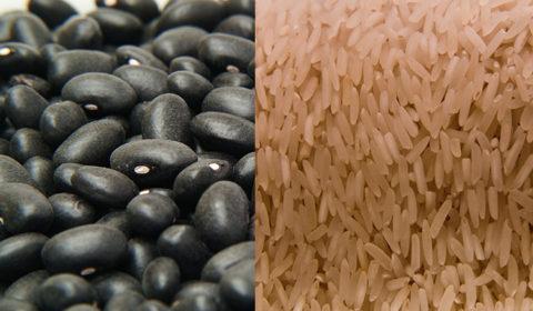black beans in white bowl